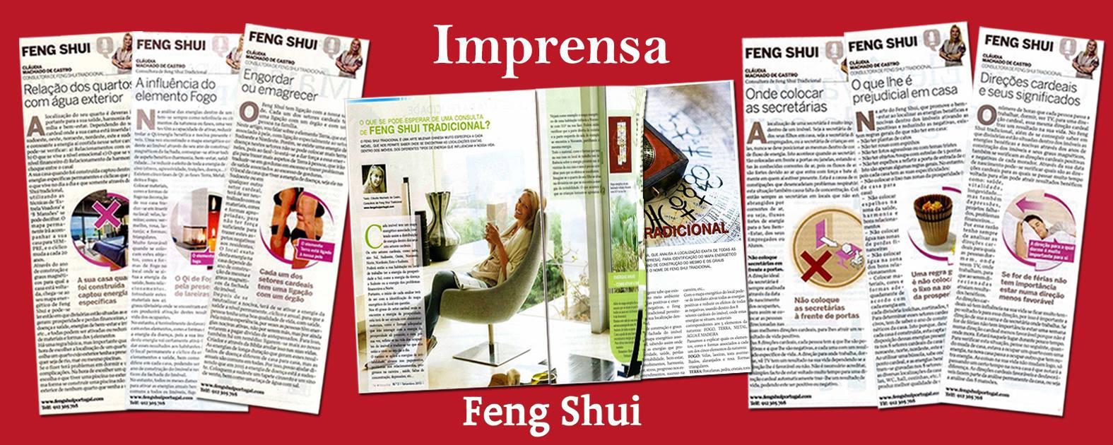 Feng Shui Portugal Imprensa Revistas Artigos