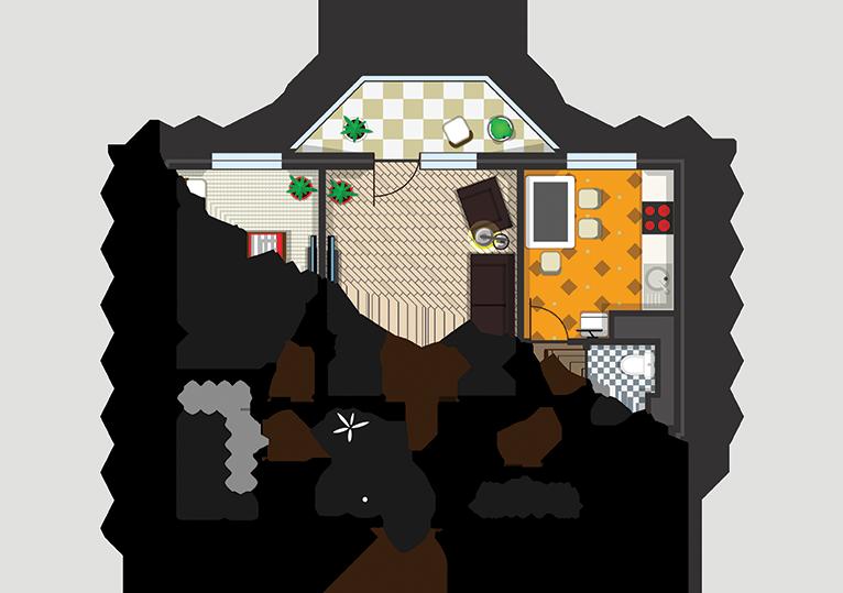 Feng Shui Portugal - Planta da Casa